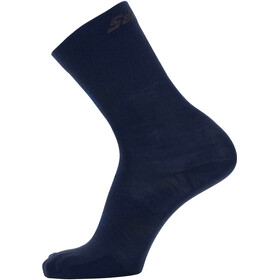 Santini Cycling Medium Wool Socks, nautic blue